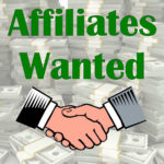 Hands shaking; affiliates wanted