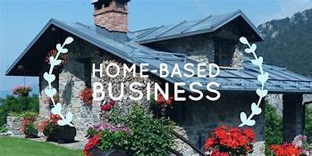 house in country; home based business sign