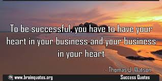 Quote: how to be successful