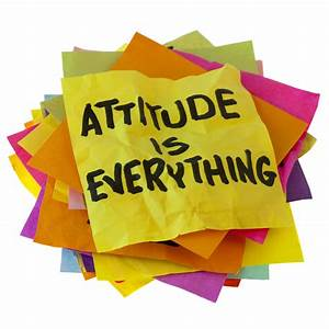 Sign: attitude is everything