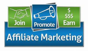 sign promoting affiliate marketing