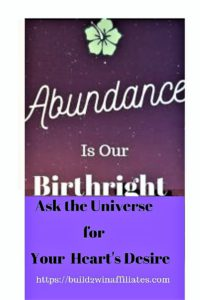 Abundance is our birthright