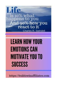 Learn how your emotions can motivate you to success