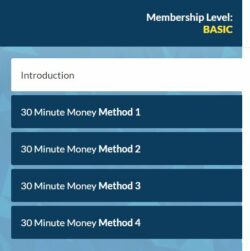 membership methods: 30 minute