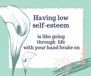 self-esteem slogan