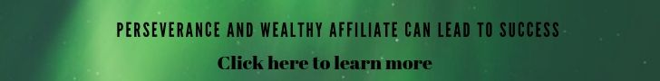 perseverance/wealthy affiliate banner