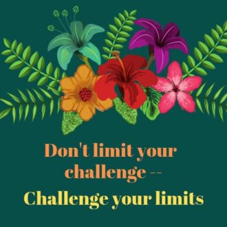 quote about challenge