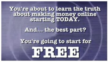 Advertising for free way to make money