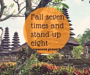 Fall 7 times and stand up 8