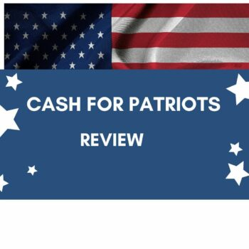 cash for patriots review with flag