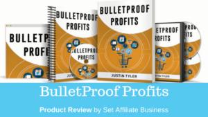 bulletproof profits book & videos