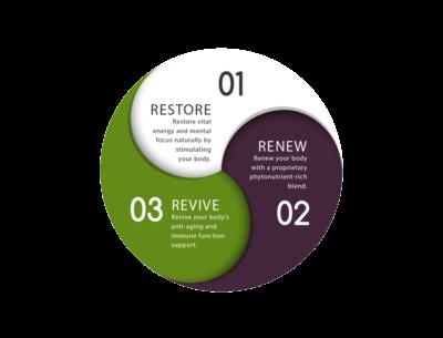 Restore-Renew-Revive illustragion
