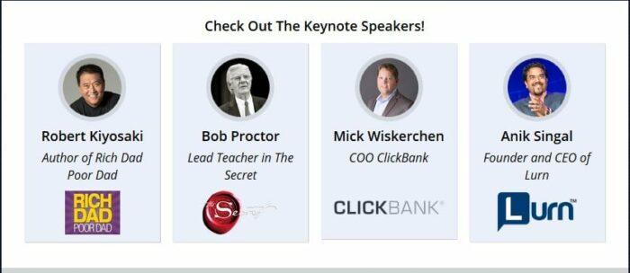 Keynote speaker ad