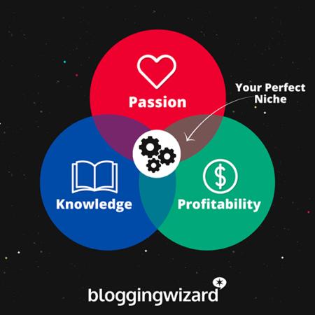 Passion; knowledge; profitability: your perfect niche