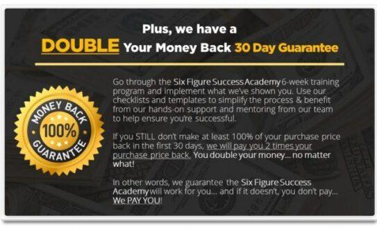 SFSA 30-day guarantee