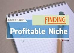 Finding Profitable Niche imabe