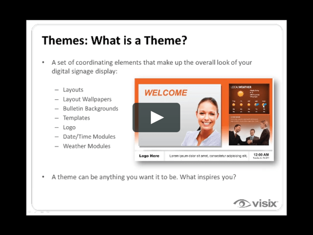 Illustration: What is a theme?