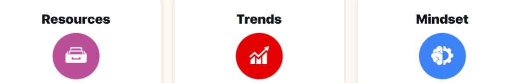 Resources - Trends - Mindset