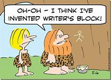 caveman: first writer's block when cave painting